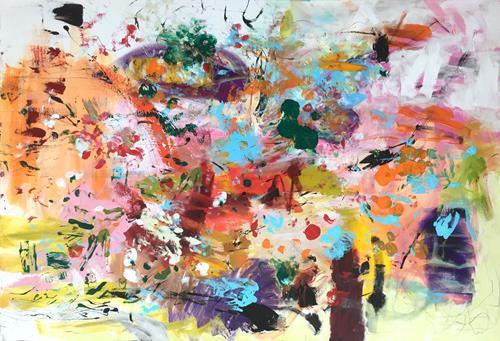 Christel Haag, Baum des Lebens, Abstraktes, Gegenwartskunst
