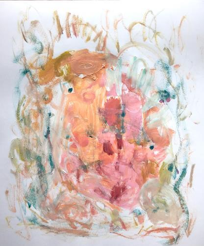 Christel Haag, Kleine Kobolde, Abstraktes, Gegenwartskunst