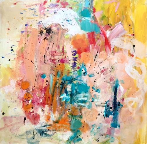 Christel Haag, Sommertraum, Abstraktes, Gegenwartskunst