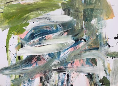 Christel Haag, Are You Ready 1, Abstraktes, Gegenwartskunst