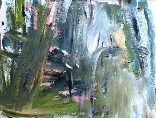 Christel Haag, Are You Ready 2, Abstraktes, Gegenwartskunst