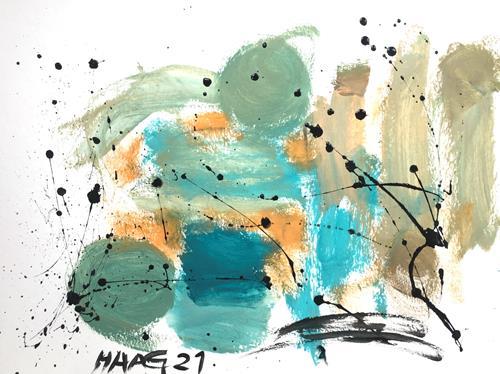 Christel Haag, Just Dreaming, Abstraktes, Gegenwartskunst
