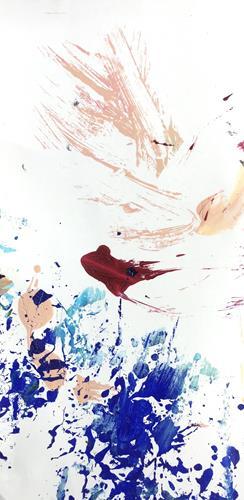 Christel Haag, Good Morning World, Abstraktes, Gegenwartskunst