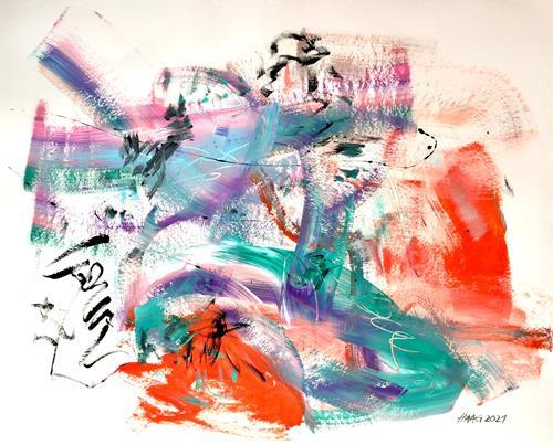 Christel Haag, Sweet Harmony, Abstraktes, Gegenwartskunst, Expressionismus