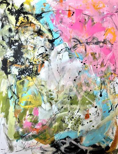 Christel Haag, When the Wind Blows, Abstraktes, Gegenwartskunst