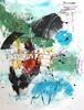 Christel Haag, Schmetterlinge im Bauch, Abstraktes, Fantasie, Gegenwartskunst