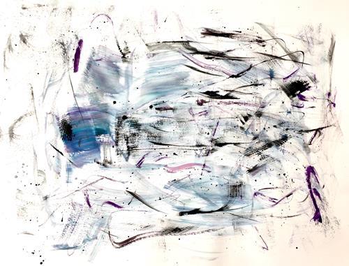 Christel Haag, Talk About 2, Abstraktes, Bewegung, Gegenwartskunst