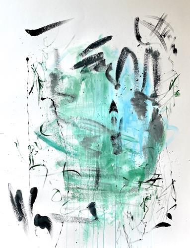 Christel Haag, Thumbs Up, Abstraktes, Gegenwartskunst