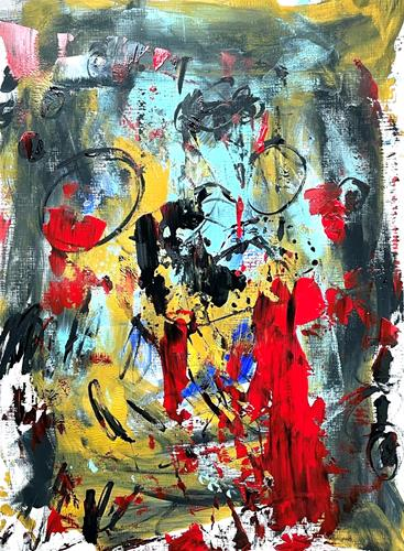 Christel Haag, Born Like This, Abstraktes, Gegenwartskunst