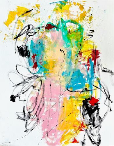 Christel Haag, In the Mood for Summer, Abstraktes, Gegenwartskunst