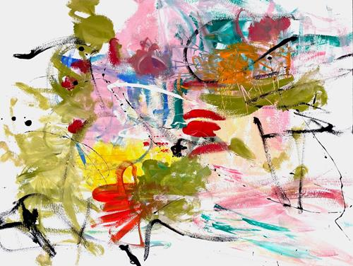 Christel Haag, Such a Beautiful Day, Abstraktes, Gegenwartskunst