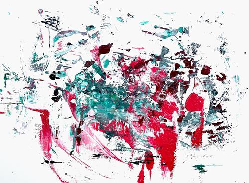 Christel Haag, Green Soul 3, Abstraktes, Gegenwartskunst