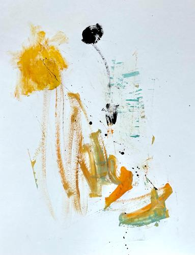 Christel Haag, Drei sind einer zu viel 2, Abstraktes, Gegenwartskunst