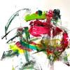 Christel Haag, Power of Love 1, Abstraktes, Gegenwartskunst