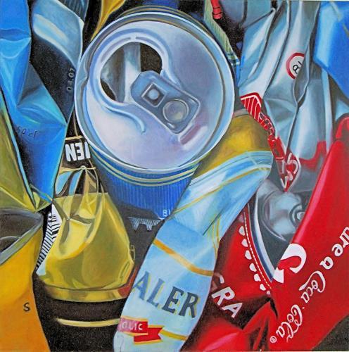 Susanne Wolf, ART OF RECYCLING, Gesellschaft, Diverse Gefühle, Fotorealismus