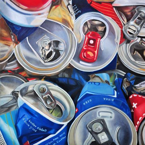 Susanne Wolf, ART OF RECYCLING, Stilleben, Industrie, Fotorealismus, Abstrakter Expressionismus