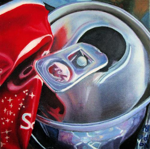 Susanne Wolf, Mini Art of Recycling, Stilleben, Industrie, Fotorealismus