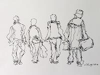 Susanne Wolf, Menschen auf der Durchreise
