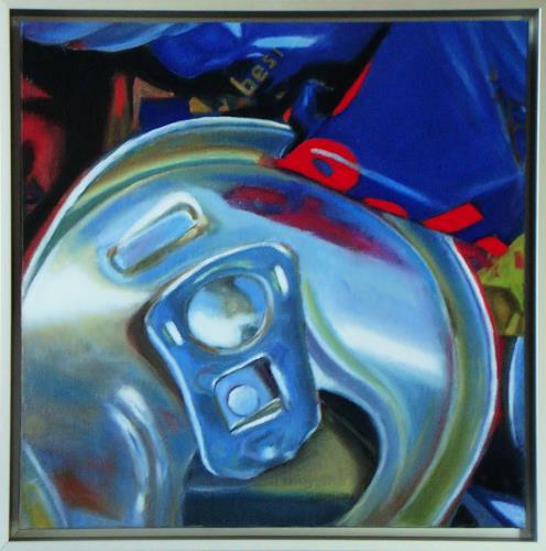 Susanne Wolf, Mini Art of Recycling, Gesellschaft, Industrie, Fotorealismus