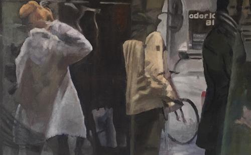 Susanne Wolf, Reflection, Menschen: Gruppe, Gegenwartskunst