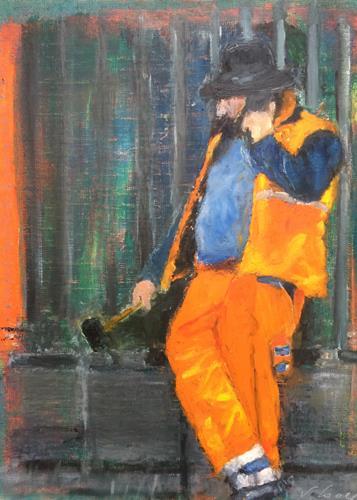 Susanne Wolf, under construction, Menschen, Arbeitswelt, Gegenwartskunst
