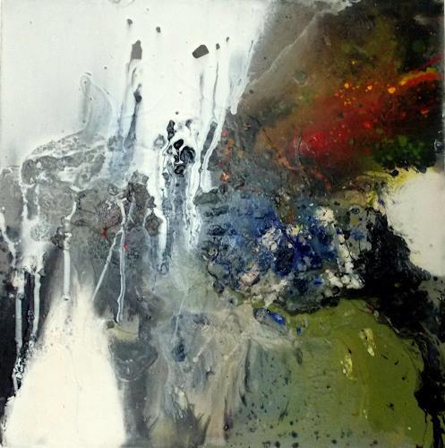 Christa Haack, Decision I, Abstraktes, Abstraktes, Abstrakte Kunst, Abstrakter Expressionismus