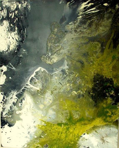 Christa Haack, Clearing, Abstraktes, Abstraktes, Abstrakte Kunst, Abstrakter Expressionismus