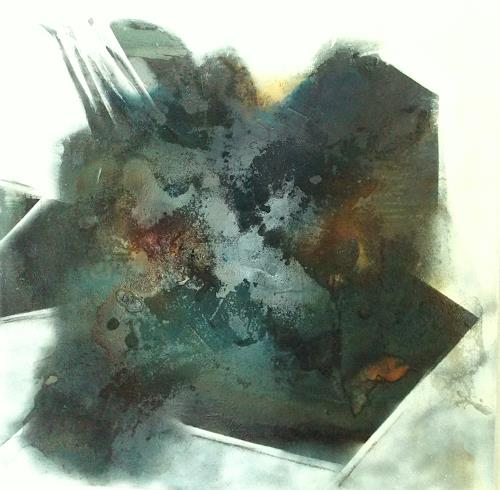 Christa Haack, Decline, Abstraktes, Abstrakter Expressionismus