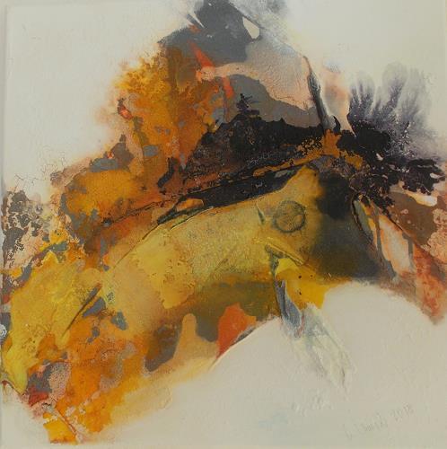 Christa Haack, Sunny Days 1, Abstraktes, Abstraktes, Abstrakter Expressionismus, Expressionismus