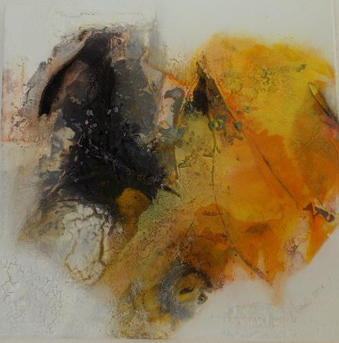 Christa Haack, Sunny Days 2, Abstraktes, Abstraktes, Abstrakter Expressionismus