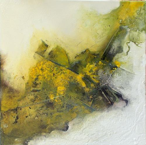 Christa Haack, Meadow 1, Abstraktes, Abstraktes, Abstrakte Kunst, Expressionismus