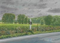 Richard-MIerniczak-Landschaft-Ebene-Landschaft-Fruehling-Gegenwartskunst-Gegenwartskunst