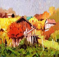 Richard-MIerniczak-Landschaft-Herbst-Natur-Diverse-Moderne-Impressionismus