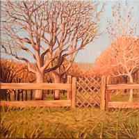 Richard-MIerniczak-Landschaft-Landschaft-Herbst-Moderne-Impressionismus-Neo-Impressionismus