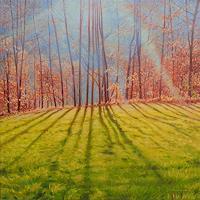 Richard-MIerniczak-Natur-Wald-Landschaft-Herbst-Moderne-Impressionismus-Neo-Impressionismus