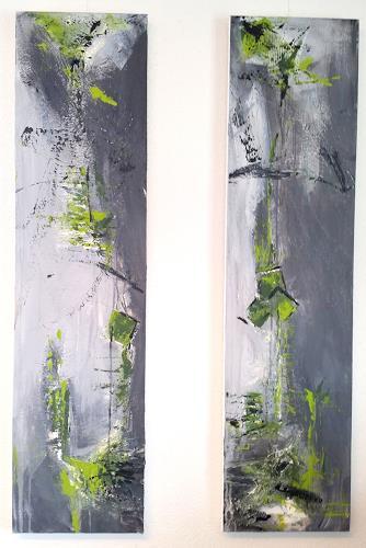 Sandra Wernli, Ausgewogen II, Abstraktes