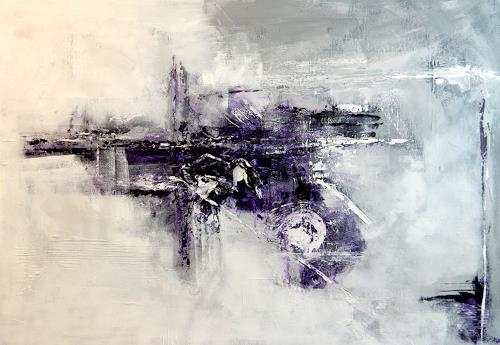 Sandra Wernli, Bewegung I, Abstraktes