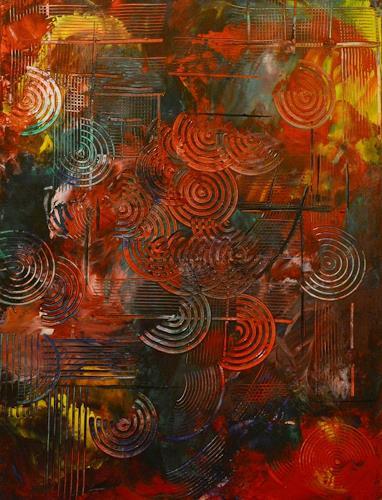Barbara Zucker, Cirkle Point, Fantasie, Abstrakte Kunst