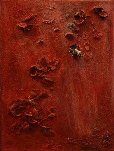 Barbara Zucker, Various Red, Pflanzen: Blumen, Abstrakte Kunst