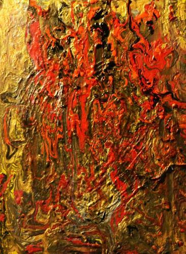 Barbara Zucker, Fließstruktur, Fantasie, Moderne, Expressionismus