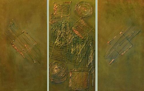 Barbara Zucker, Abstrakte Formen, Abstraktes, Moderne