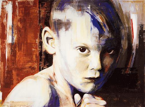 Thomas Thüring, Goran, Menschen: Porträt, Gesellschaft, Gegenwartskunst, Expressionismus