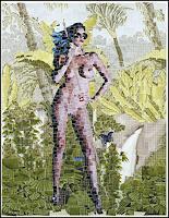 gerd-kemmerling-Akt-Erotik-Akt-Frau-Menschen-Frau-Moderne-Pop-Art
