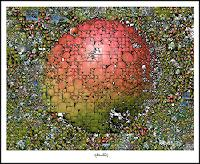 g. kemmerling, Grün mit Rot