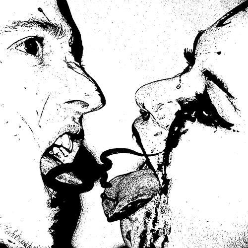 Charlotte von Heise, Big_kiss, Skurril, Situationen, Abstrakter Expressionismus