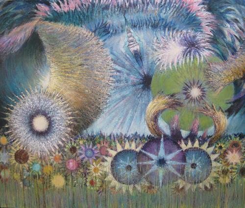 Arthur Schneid, Kambrische Explosion, Abstraktes, Natur, Gegenwartskunst