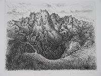 Arthur Schneid, Alpenstampede
