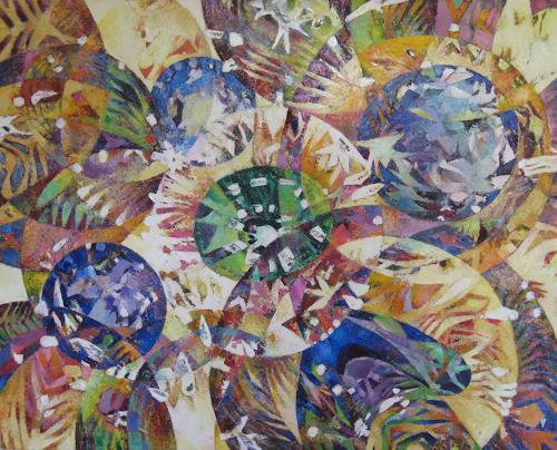 Arthur Schneid, Multiversen, Abstraktes, Technik, Gegenwartskunst