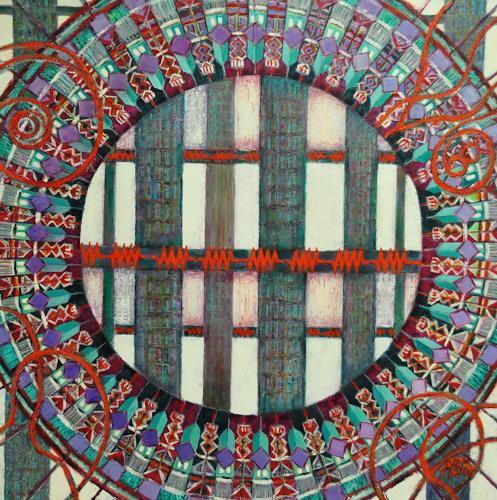 Arthur Schneid, CERN 2 - Kontrolle und Widerstand, Abstraktes, Technik, Gegenwartskunst