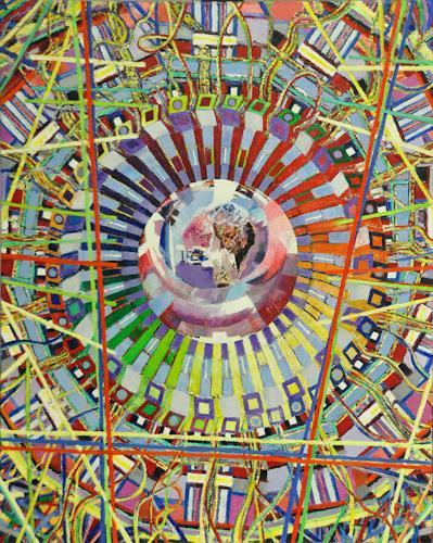 Arthur Schneid, CERN 4 - Die Kristallkugel der Wissenschaft, Technik, Diverses, Gegenwartskunst